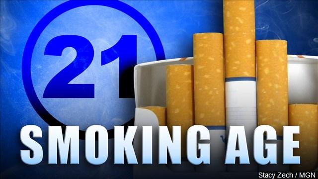Smoking Age Raised